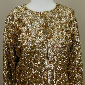 Imperial Fashion Gold Sequin Jacket